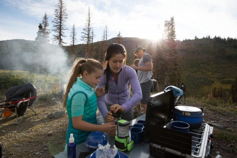 Camp Cooking Safety