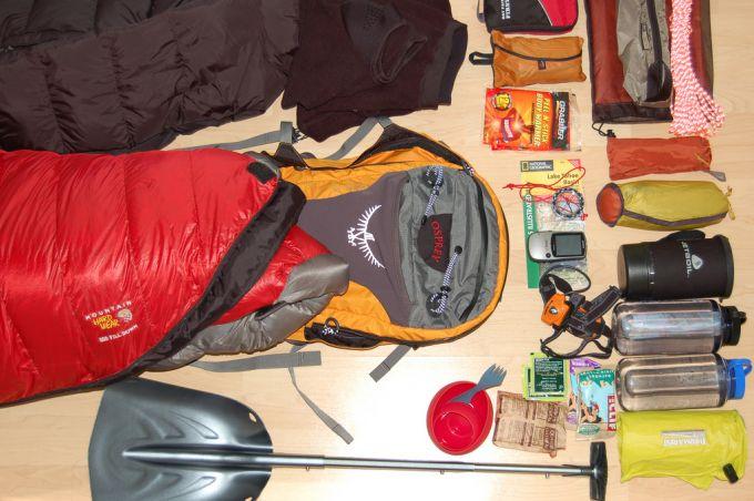 optional camping list