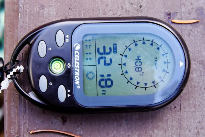Celestron digital compass