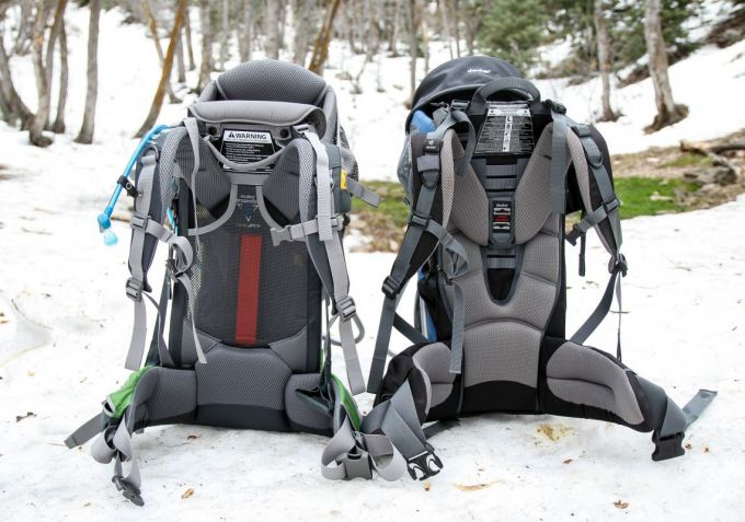 Backpack padding