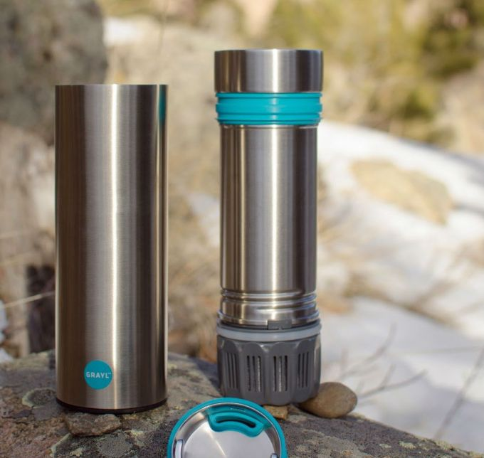 Filtered water bottle ease of use