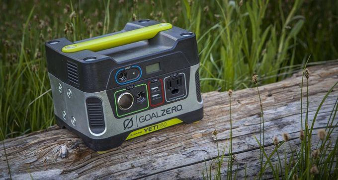 goal zero yeti 150 solar generator 22004