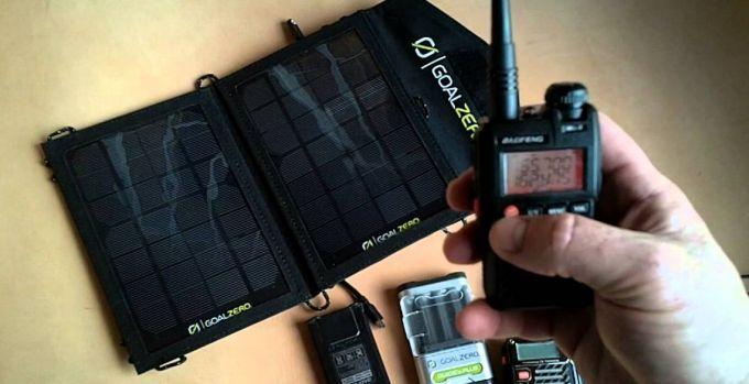 solar panel ham radio