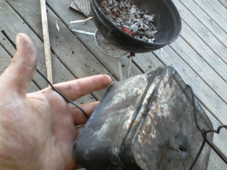 3-Step Charcoal Process