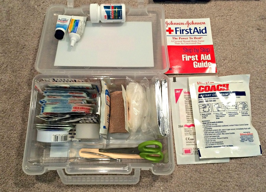 Access to emergency items