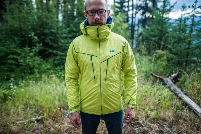 Alpine style of 3-in-1 jacket