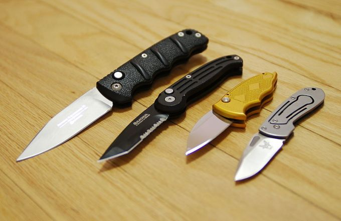 Benchmade knife collection 2006