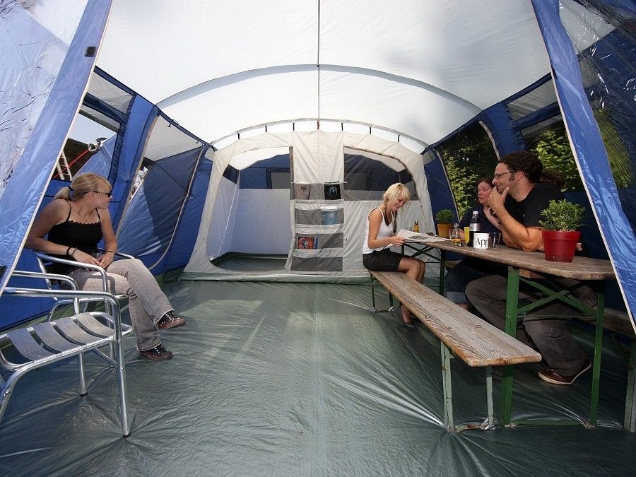 Best Family Tent Inside