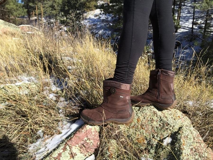 Break your winter boots