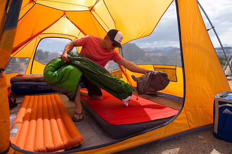 Camping tent gear