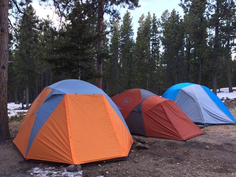 Choosing your tent
