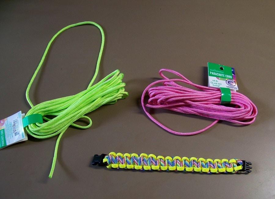 Easy cobra knot bracelet
