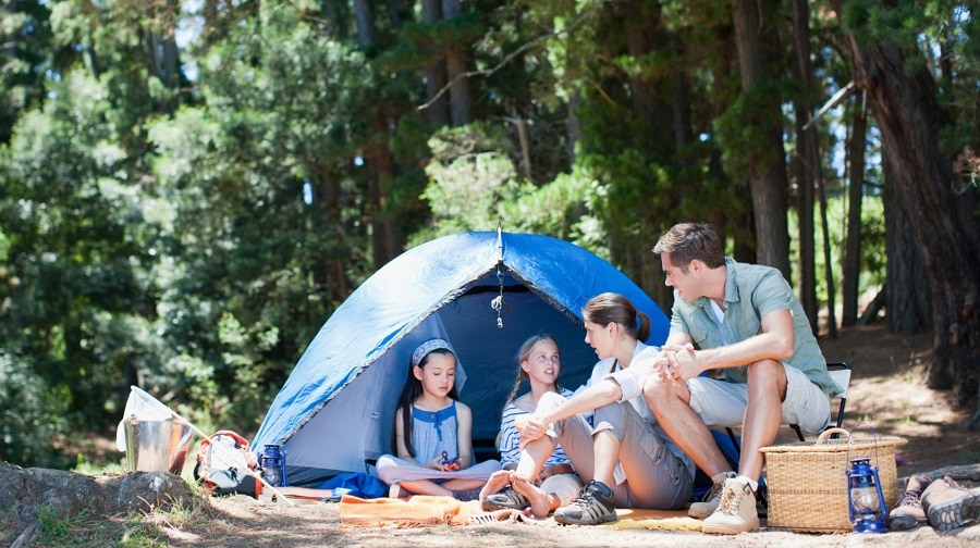 Family camping ideas