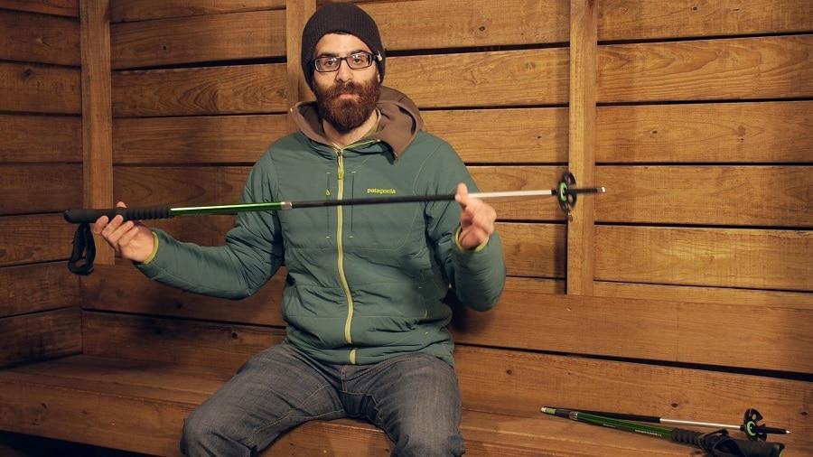 Hiking pole weight