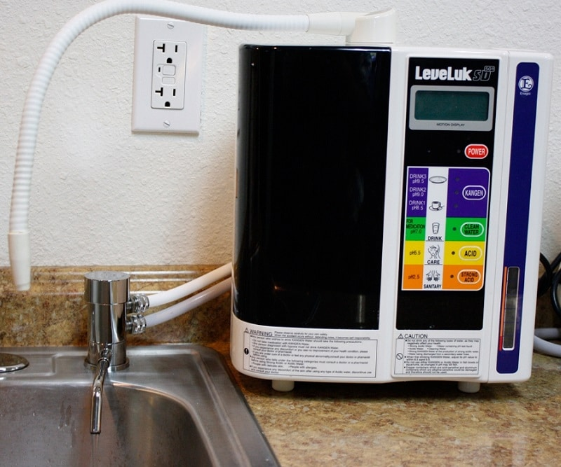 Install an Ionizer on your Faucet