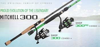 Mitchell 300 Pro Spinning Rod and Reel Combo