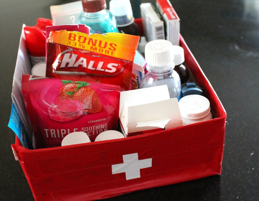 Recheck your first-aid kit