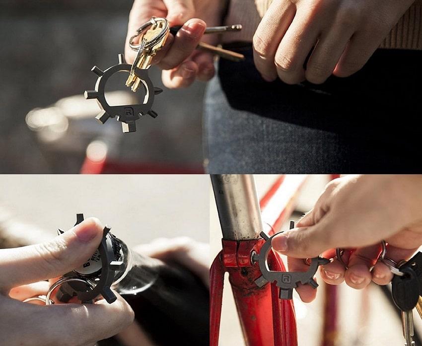 Ringtool Multi Tool Keychain