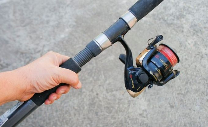 balancing fishing rod