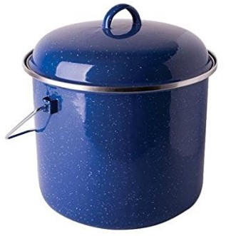 Stansport Steel Enamel Straight Pot