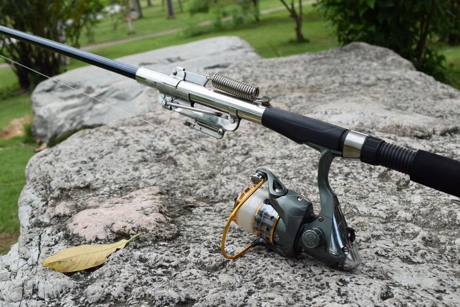 Types of fishing rods a guide to your first fishing gear for Steel fishing rod