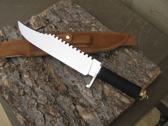Survival Knife Rambo Style