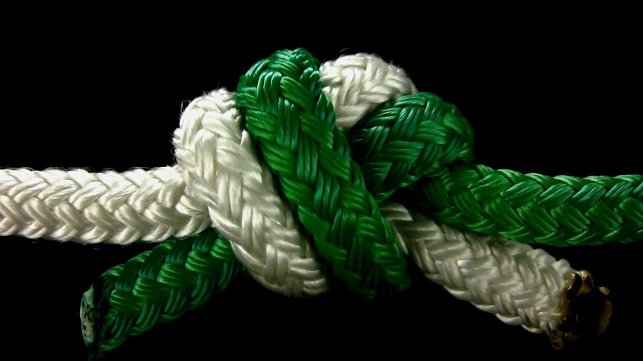 The ring bend knot