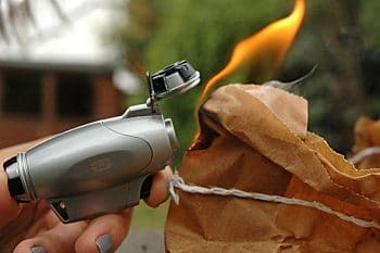 True Utility TU407 FireWire Turbo Jet Lighter with Windproof Flame Adjuster