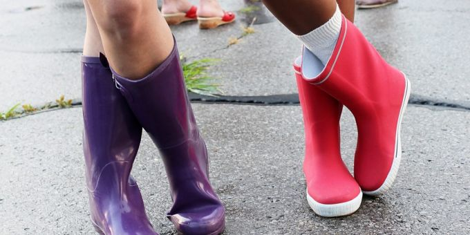 Types of rain boots for women
