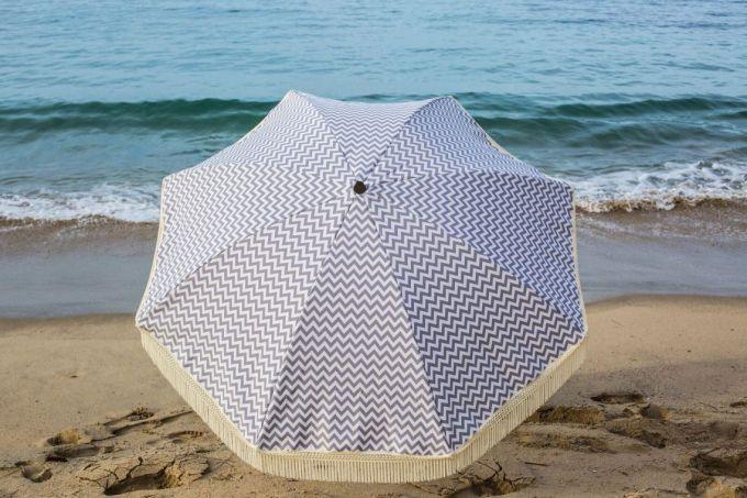 Umbrella on sunny day