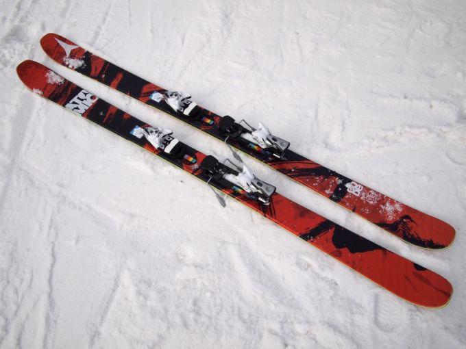 Waist size of Mountain Skis