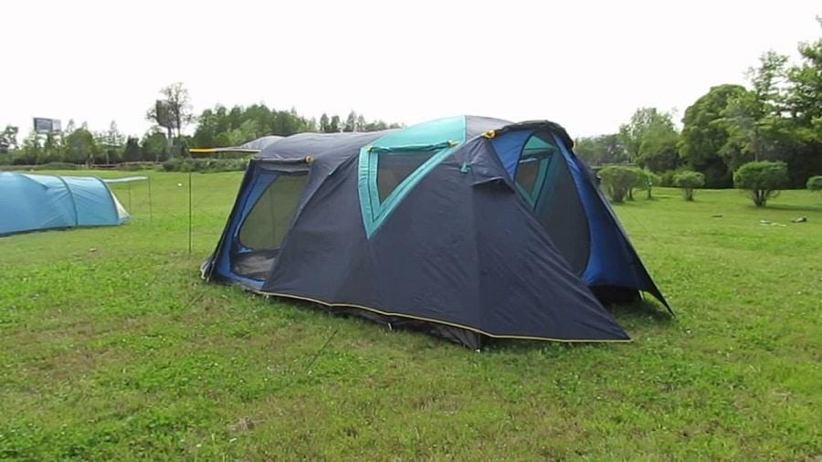Waterproof family tent