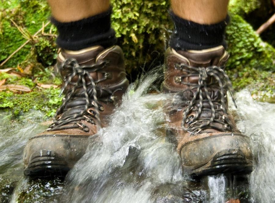 Waterproofed boots