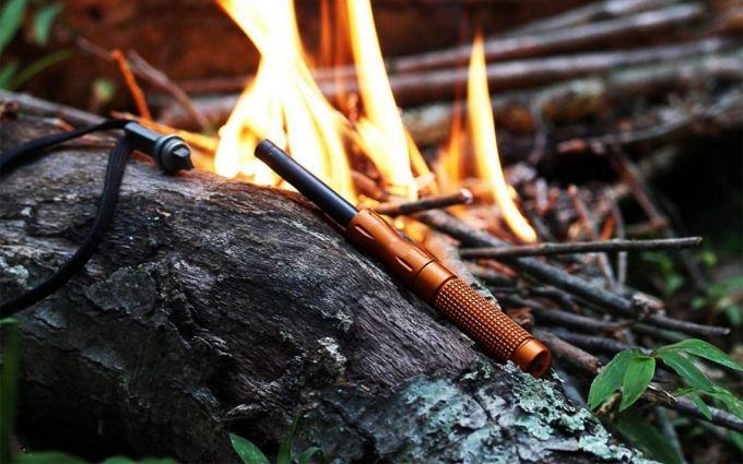 Windproof fire starters