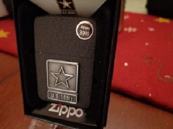 Zippo US Army Lighters