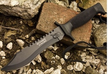 "12"" Survival Bowie Knife by Elite04"