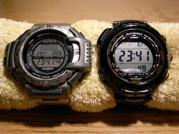 Casio PRO-TREKs compass watches