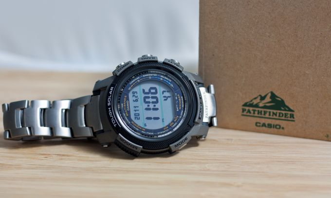 Casio Pathfinder compass watch