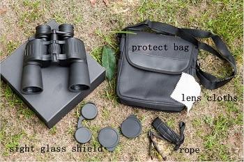8-24X50 HD Wide-Angle Zoom Central Portable Binoculars Telescope