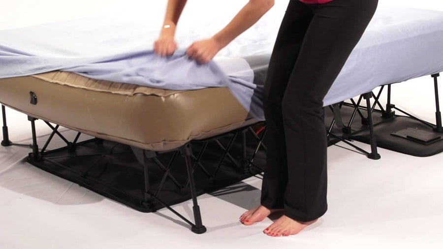 Air Mattresses with Frame and Rails