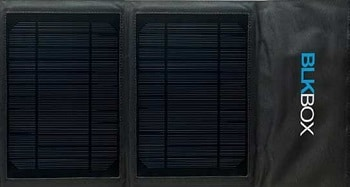 BLKBOX Portable Solar Charger for all USB Connectors