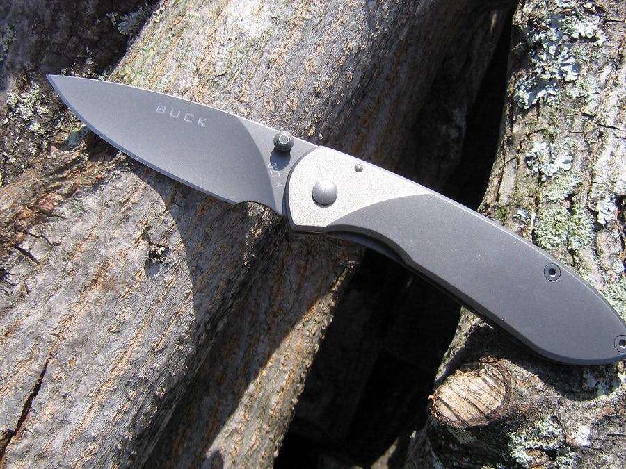 Buck nobleman folding knife