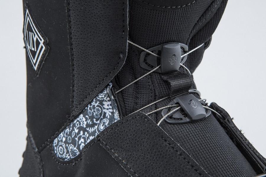 Snowboard Reviews Boots Salomon Lacing