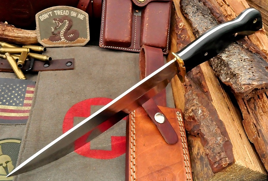 Bowie knife maintenance
