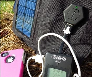 Brunton Power Essentials Kit-Explorer 2 Solar Panel with Inspire Power Pack