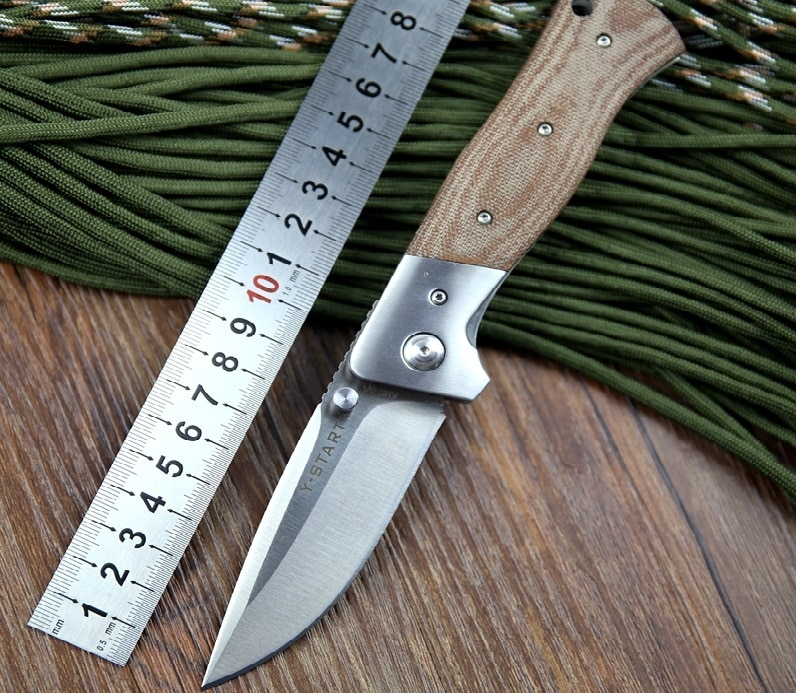 Camping knife size