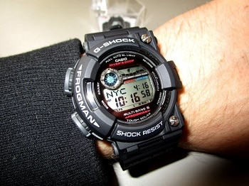 Casio G-Shock Digital Dial Resin Quartz Men's Watch GWF1000-1