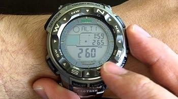 Casio Men's PRW-2500T-7CR Pro Trek Tough Solar Digital Sport Watch