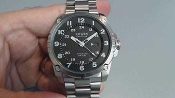 Citizen Men's BJ8075-58F Eco-Drive STX43 Shock-Proof Titanium Watch