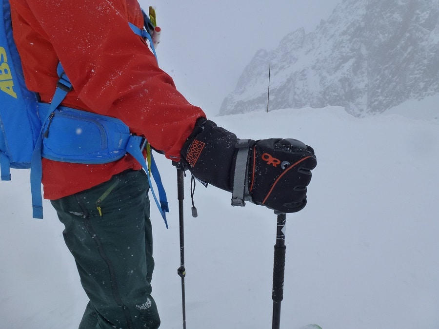 Climbing gloves for winter